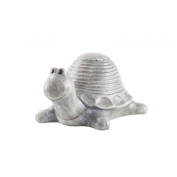 Havefigur - Skildpadde H=16 cm. L= 26 cm.