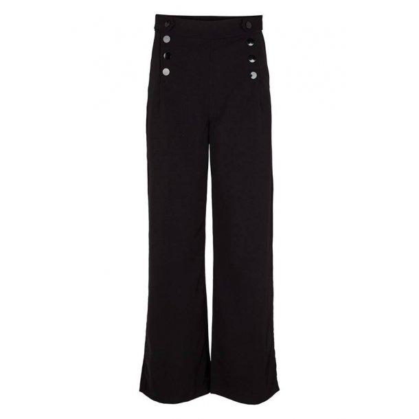 Bukser - Højtaljet  - Drys