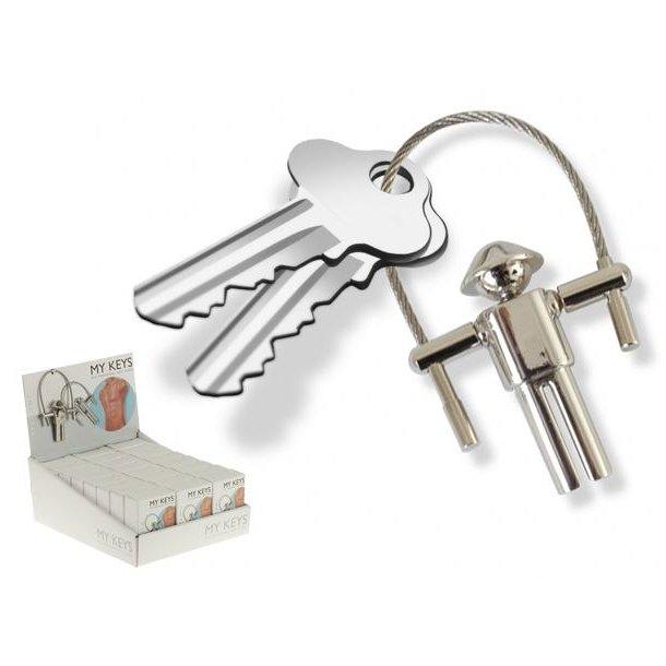 Man Keychain