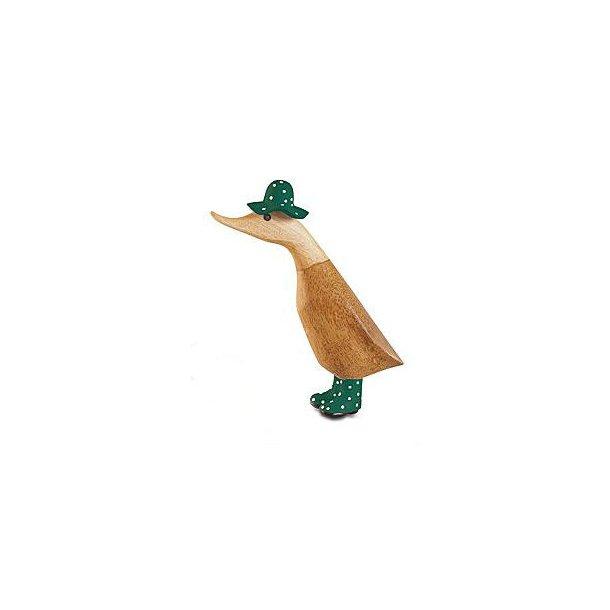 Dcuk - And med gummistøvler og hat