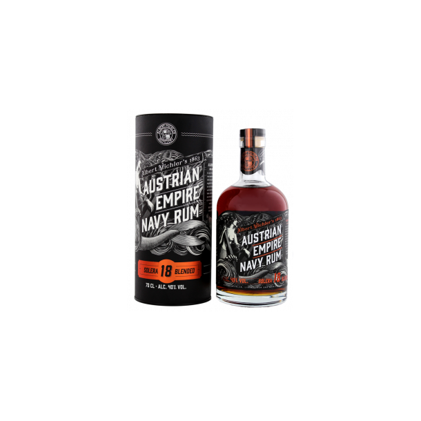 Austrian Empire Navy Rum, Solera 18 Years old - 40%
