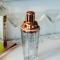 Kobber - Shaker i glas med kobberlåg