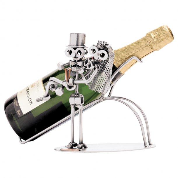 Champagne holder m/brudepar