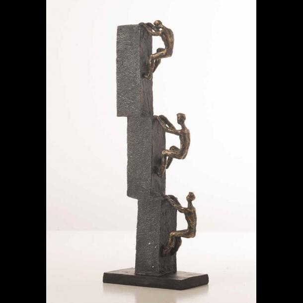 Tidssvarende Figur - 3 klatrende mænd på væg - Figurer og pynt til hjemmet OD-89