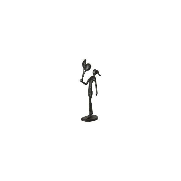 Figur – Pige med balloner