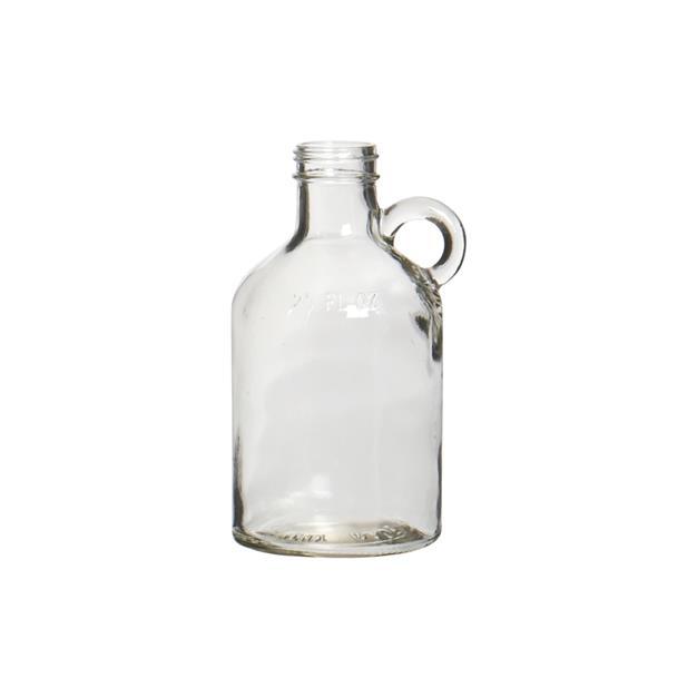 Flaskevase med hank