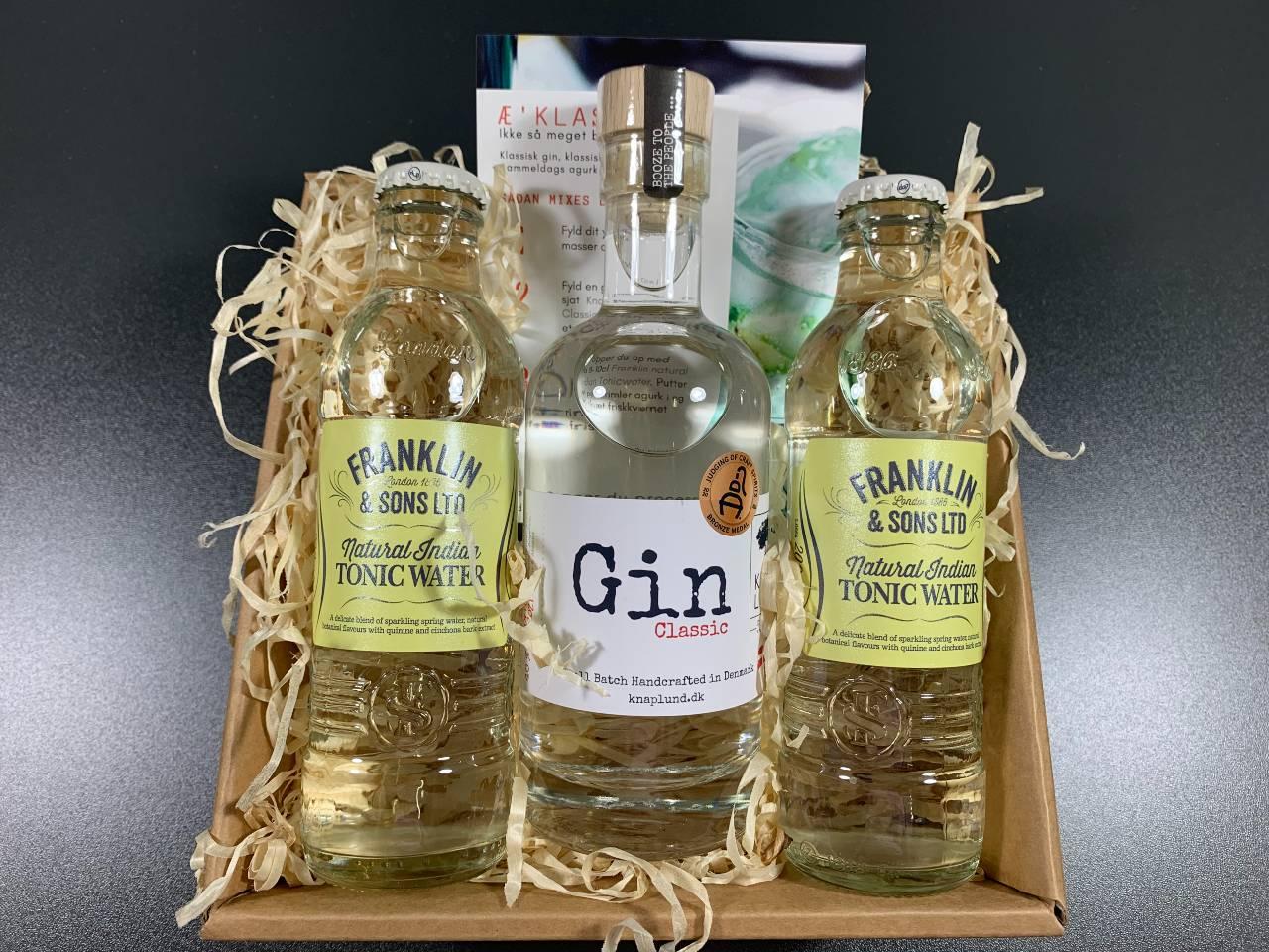 Gavekurv til ham – Gin fra Knaplund