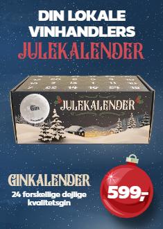 Julekalender – Gin