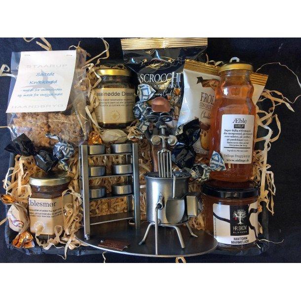 Mejerist – Mejeritekniker – Gavepakke med figur og lækkerier