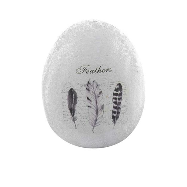 Påskepynt Keramik æg Højde 8 cm.