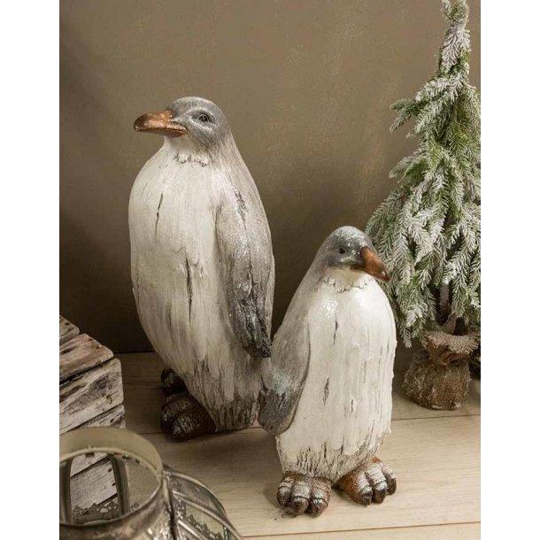 Figur - Pingvin sæt - Højde 57/45 cm.