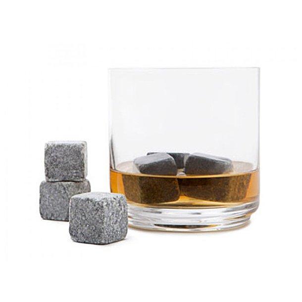 9 stk. whisky sten i pose
