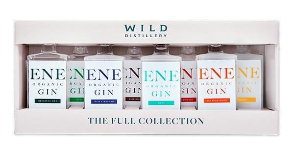 Wild Distillery Gaveæske med 8 Gin