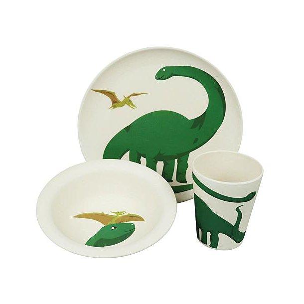 Børnespisesæt - Hungry Dino