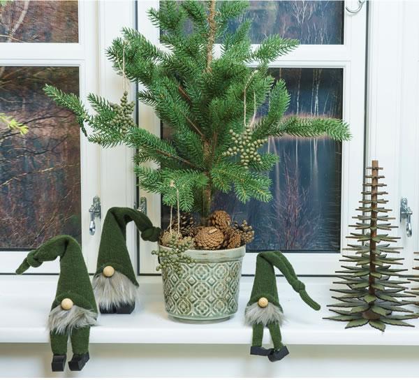 Julepynt, stager og figurer