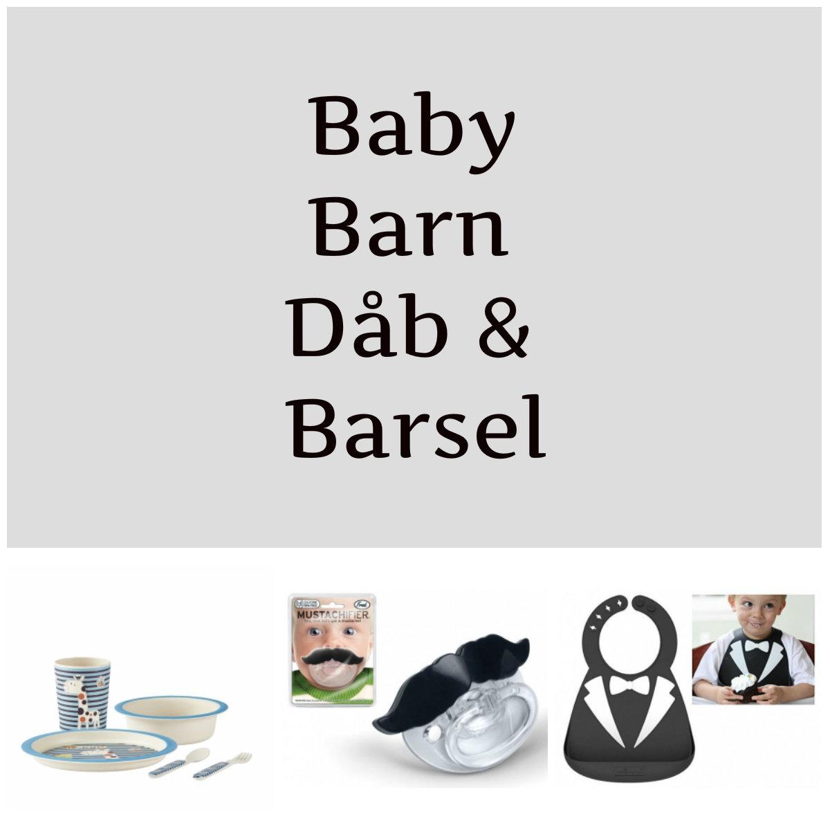 Baby, børn, dåb og Barsel