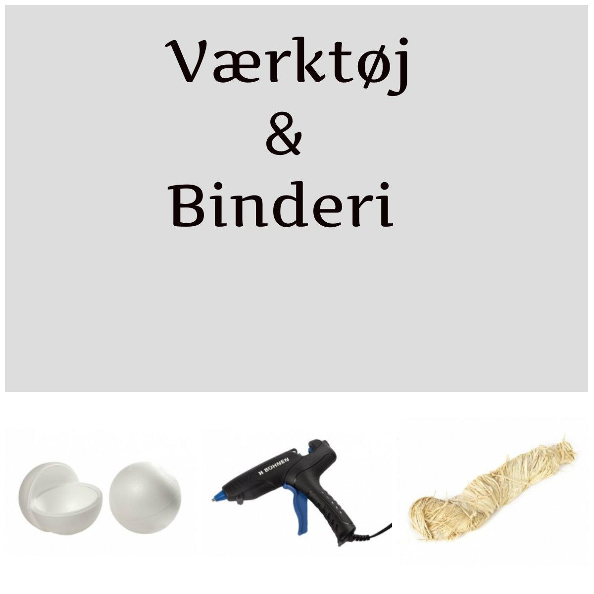 Værktøj og binderi