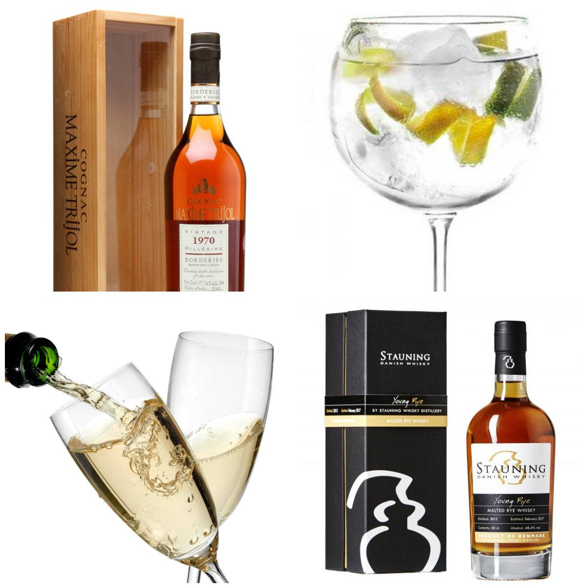 GROTTEN-Special spiritus og vin