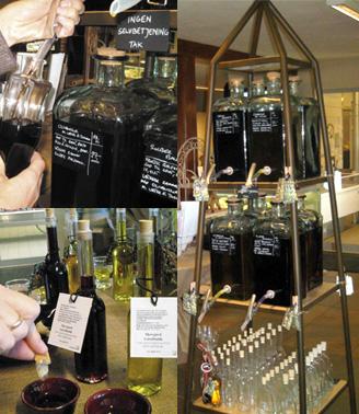 Lækre olier og balsamicoeddiker