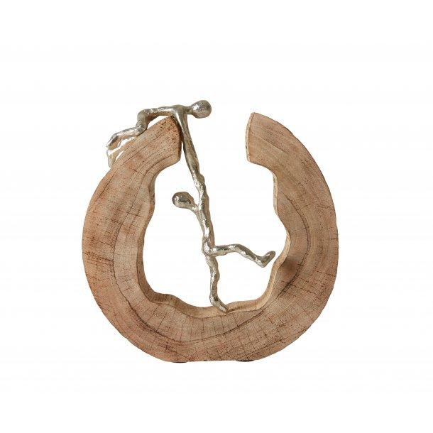 Figur – Mangotræ med alu. Mænd