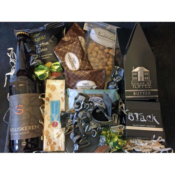 Vvs montør - Blikkenslager - Ejendomsservice tekniker - Vicevært – Gavepakke med figur og Lækkerier