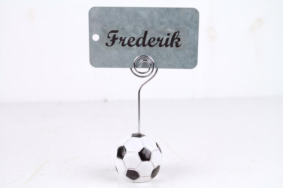 Fodbold- Bordkort holder 3,5 cm.