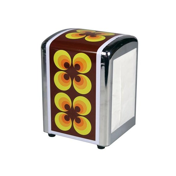 Servietdispenser – Reto - Ramona yellow