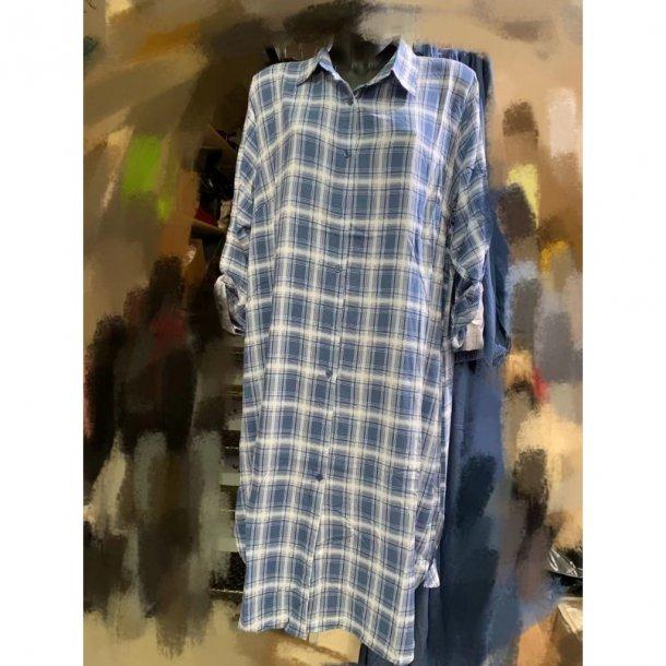 Skjorte Kjole – Drys – Onesize - Blå